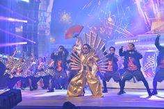 「第67回NHK紅白歌合戦」リハーサル時のRADIO FISH。
