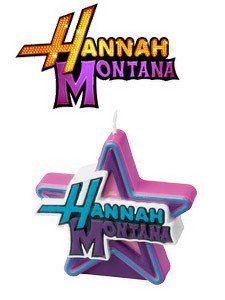 Hannah Montana Birthday candle by Wilton