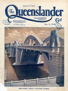 Illustrated front cover from <em>The Queenslander</em>, March 31, 1932