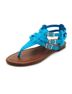 shoes, gladiators, tstrap gladiat, gladiat sandal, charlotte russe, gladiator sandals, charlott russ, sued tstrap, blues
