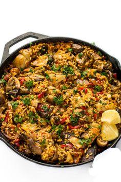 MUSHROOM PAELLA  TIPS FOR MAKING PAELLAReally nice recipes.  Mein Blog: Alles rund um Genuss & Geschmack  Kochen Backen Braten Vorspeisen Mains & Desserts!