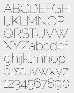 Matt McInerney | Raleway Typeface