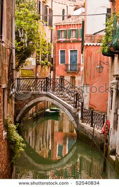 View Venice Canal Old Buildings Stock Photo (Edit Now) 52540834 - Venice, Italy. It's like my dream city. -Classic View Venice Canal Old Buildings Stock Photo (Edit Now) 52540834 - Venice, Italy. It's like my dream city. Places To Travel, Places To See, Venice Painting, Italy Painting, Venice Canals, Italy Vacation, Italy Travel, Old Buildings, Naples