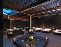 Take your time at the Yhi Spa Relaxation Lounge. You're on vacation!
