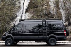 Photo shared by Benchmark Vehicles on March 2019 tagging and Mercedes Sprinter Camper, Benz Sprinter, Mercedes Rv, 4x4 Camper Van, Off Road Camper, Truck Camper, Rv Campers, Toyota Hiace, Wolkswagen Van