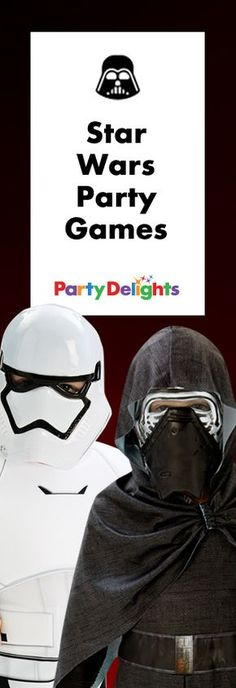 Up the fun at your next Star Wars party with our collection of Star Wars party games and activities. Perfect for children's birthday parties and Star Wars fans of any age!
