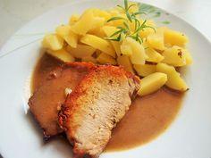 Hlavní jídla :: RECEPTY ZE ŠUMAVSKÉ VESNICE Steak, Pork, Beef, Health, Recipes, Kale Stir Fry, Meat, Health Care, Salud