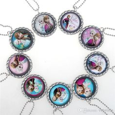 Perfect, Frozen ball chain necklaces~beautiful accessories