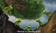 Resultado de imagen para tres ranas en un pozo