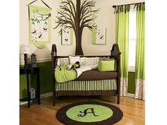 Celebrity Baby Nursery | Carousel Designs: Nursery Decorating You Can Do Yourself! – Moms ...