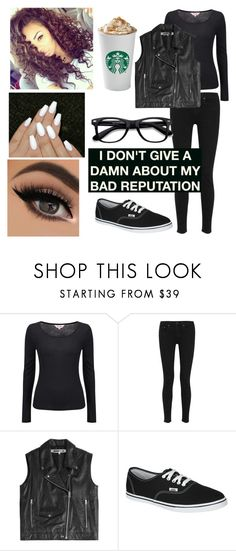 """Today's outfit (14)"" by nightmare-and-daydreams ❤ liked on Polyvore featuring Phase Eight, rag & bone, McQ by Alexander McQueen, Vans and EyeBuyDirect.com"