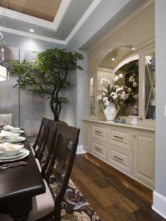 Built In China Cabinet Design Ideas, Pictures, Remodel, and Decor - page 4
