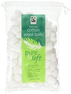From 1.50 Pure & Soft 100 Cotton Wool Balls