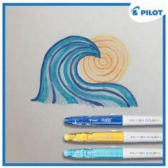 Už se vidíte u moře? Ještě pár dní vydržte a prázdniny jsou tu! :-) #happywriting White Out Tape, Pilot, Father, Pai, Pilots, Dads