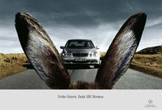 Mercedes-Benz Easter Themed Ad | 45+ Most Creative Easter Advertisements