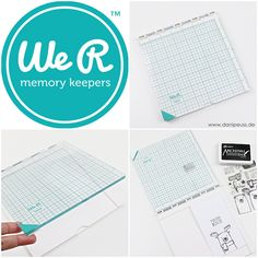 We R Memory Keepers Precision Press, gefunden auf www.danipeuss.de Scrapbooking #lasseundpeer