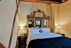 Set in the beautiful medieval winemaking village of Riquewihr, Jean-Lucel Brendel awaits you in his Michelin starred restaurant, informal Alsatian 'stube' and avantgarde rooms fusing the contemporary with history. Alsatian, Medieval, Rooms, Restaurant, France, Contemporary, History, Bed, Inspiration