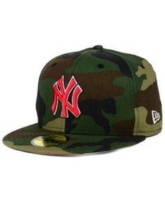 New Era New York Yankees Under Woodland 59FIFTY Cap - WoodlandCamo 7 1/4