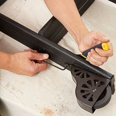 Photo: Bruce Buck   thisoldhouse.com   from How to Build a Rolling Library Ladder