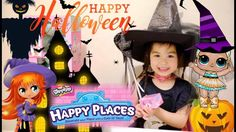 LOL Surprise Doll LUXE HALLOWEEN Superhero Story & Shopkins Happy Places...