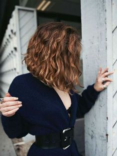 another view of possible spring hair? long curly bob – Miss Locko - Perm Hair Styles Long Curly Bob, Thick Curly Hair, Short Wavy Hair, Curly Hair Cuts, Curly Hair Styles, Natural Hair Styles, Curly Lob, Curly Inverted Bob, Wavy Lob