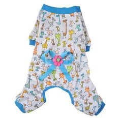 New arrive Pet Cartoon Printed Cotton Pajamas Small Dog Cat Jumpsuit Coat Shirt Clothes For Teddy Small Dogs