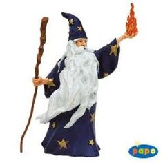 Merlin The Magician figurine from Papo #wizards