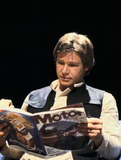 Harrison Ford (Han Solo) - Behind the scenes of Star Wars