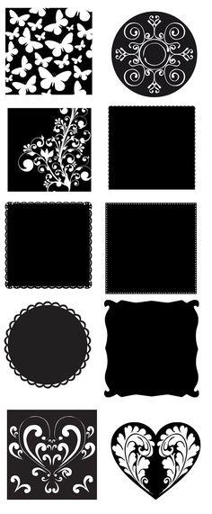 KLDezign les SVG: Et encore des feuilles stencils Machine Silhouette, Silhouette Cutter, Silhouette Files, Silhouette Images, Silhouette Portrait, Silhouette Design, Shilouette Cameo, 3d Templates, Stencils