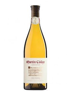 Martin Codax 2013 Orange Wine, White Wine, Spanish Wine, Queso Fresco, White Bodies, Whiskey, Drinking, Bottle, Citrus Fruits
