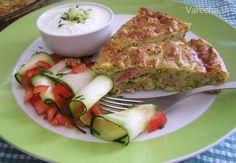 Cuketový slaný koláč (fotorecept) Tofu, Food Inspiration, Food To Make, French Toast, Healthy Recipes, Eat, Breakfast, Morning Coffee, Healthy Eating Recipes