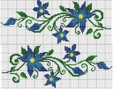 Flores [] # # #Hamza, # #Yuyu, # #Kitchen, # #Cross #Stitch, # #Flowers, # #Projects