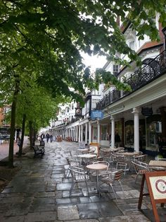 The Pantiles, Tunbridge Wells, Kent, England - the architecture in Tunbridge Wells is beautiful, especially on this street. Lots of lovely boutique shops too