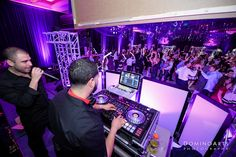 The guys from #tripleP #entertainment did an amazing job keeping the party going at Izzy's Bat Mitzvah Party. #Photography by #DominoArts (www.DominoArts.com) #mitzvahparty #mitzvahpictures #entertainment #crew #eventphotographer #luxuryevents #photography #southfloridaphotographer #parkland #miami