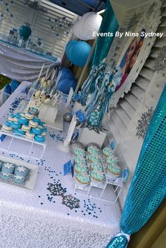Frozen Princess Party | CatchMyParty.com