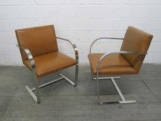1stdibs.com | 6 Ludwig Mies van der Rohe BRNO Chairs for Knoll