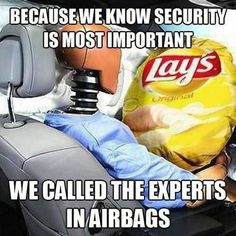 Security is important...