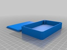 Here is a customizable enclosure that includes screw stand-offs and counter-sunk holes in the lid. Design Files, 3d Design, Stl File Format, 3d Printed Objects, 3d Printer Designs, 3d Drawings, 3d Prints, Hobby, Diy