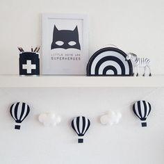 Kidsware luchtbalonnen zwart-wit