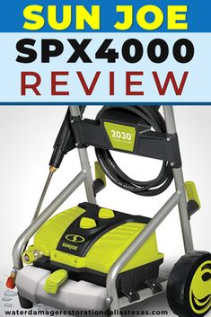 Sun Joe SPX4000 Product Review – Emergency Water Damage in Dallas, TX | The Knowledge You Need For Restoration