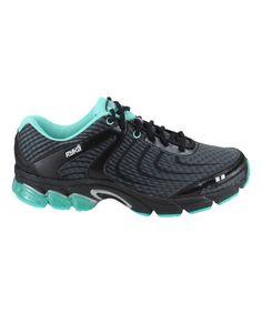 Another great find on #zulily! Black & Dark Gray Motive Running Shoe #zulilyfinds