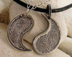 Popular items for silver yin yang on Etsy