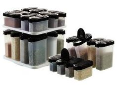 Spice up your life with Tupperwares Spice Containers.  On sale now! www.my2.tupperware.com/jolenegreen