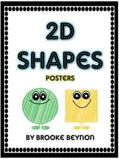 2D Shapes - Classroom Display Posters