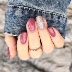 60 beautiful amazing spring square nail art ideas 2019 27 W Autumn Nails, Winter Nails, Summer Nails, Hair And Nails, My Nails, Happy Nails, Nail Selection, Uñas Fashion, Dipped Nails