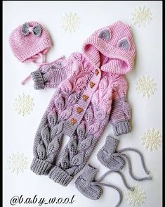 520 Likes, 36 Comments - Loose . 520 Likes, 36 Comments - Loose . 520 Likes, 36 Comments - Loose Girls Knitted Dress, Knit Baby Dress, Knitted Baby Clothes, How To Start Knitting, Knitting For Kids, Baby Cardigan, Diy Crafts Knitting, Baby Boy Knitting Patterns, Designer Kids Clothes