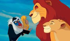 Pictures & Photos from The Lion King simba, Mufasa and Rafiki Disney Films, Disney Descendants Characters, Disney Parks, Lion King Timon, Simba And Nala, The Lion King 1994, Lion King Movie, King 3, Disney Worlds