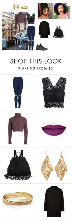 """""""Untitled #63"""" by tharciliaa ❤ liked on Polyvore featuring Topshop, NIKE, H&M, The Limited, women's clothing, women, female, woman, misses and juniors"""