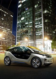 The BMW electric car is slated for a 2013 launch, and with backseat doors that open from left to right Future Electric Cars, Bmw Electric, My Dream Car, Dream Cars, Bmw Motors, Bmw I3, Car Engine, Audi Tt, Bmw Cars