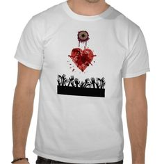 I heart zombies tshirt.  I heart the Bloggess.